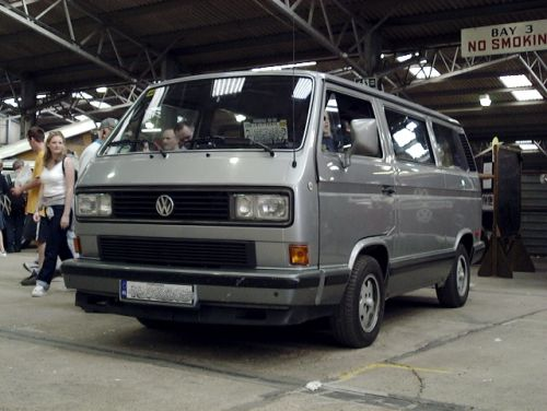 California-spec VW Vanagon Wolfsburg Edition (1988)
